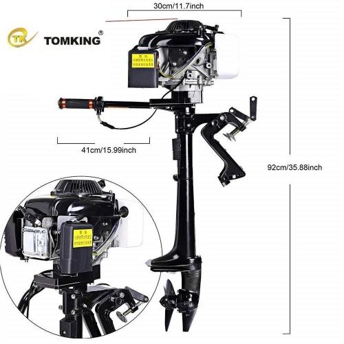 Tomking 4 Hp 4 Zamanlı Pro Şaft Motor – TK144FC – 2